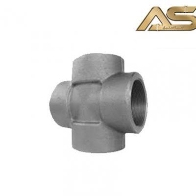 چهار راهی فولادی فشار قوی دندهای
