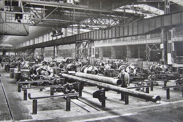 تاریخچه لولههای فولادی