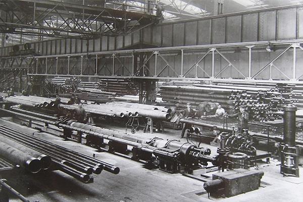 تاریخچه لوله فولادی