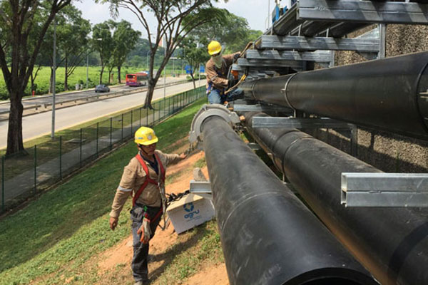 HDPE pipeline asia