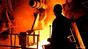 کاهش صادرات فولاد