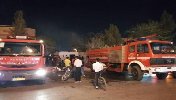ترکیدگی لوله گاز در شیراز