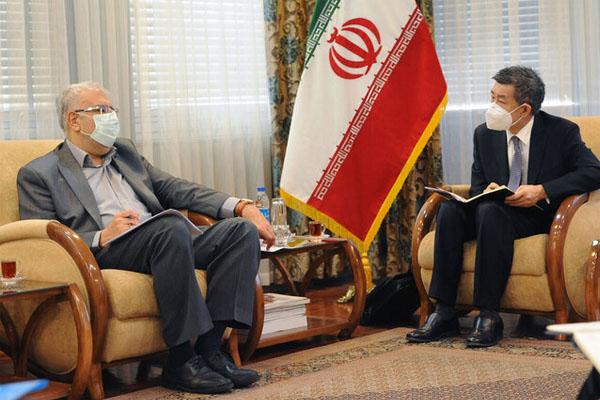 ملاقات وزیرملاقات وزیر نفت ایران و چین